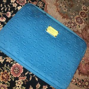 "Teal Marc By Marc Jacobs Laptop Sleeve 13"" 🥰"